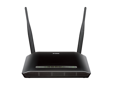 D-Link DSL-2750U Wireless N300 ADSL2 & 4 Port Router