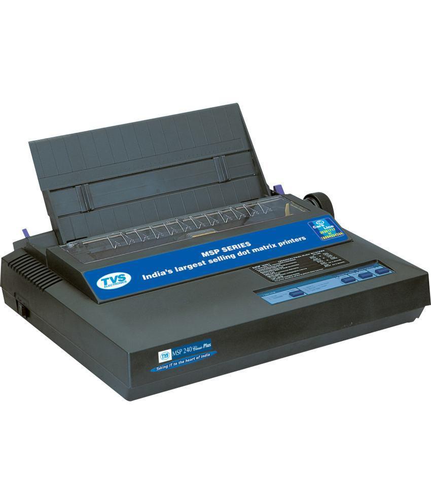 TVS -E MSP 240 Classic Dot Matrix Printer, 9W-80C