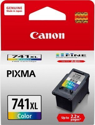 Canon 741XL Ink Cartridge, Tri Color