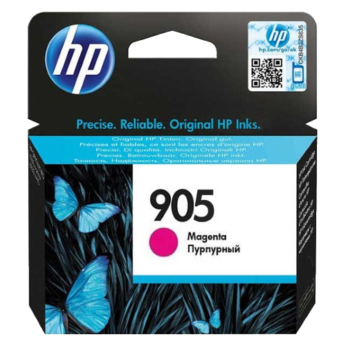 HP 905 Ink Cartridge, Magenta, T6L93MAA