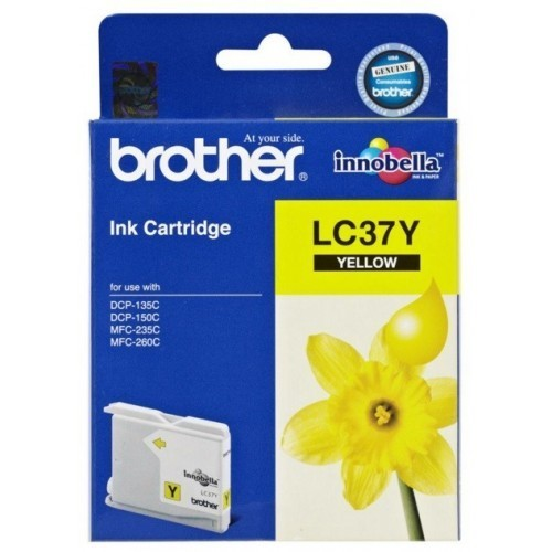 Brother LC37 Ink Cartridge, Yellow