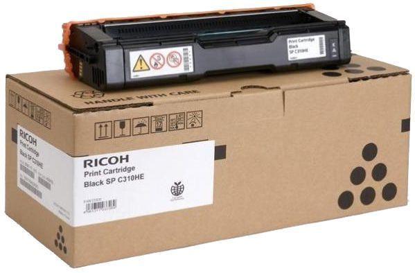 Ricoh 406483 Toner Cartridge, Black, for Color Printer