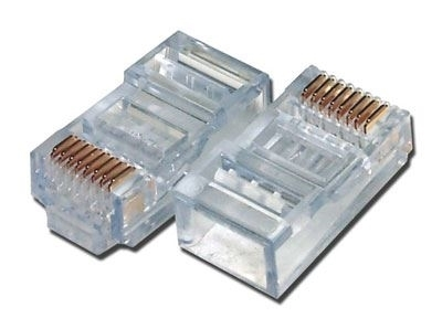 Haze RJ 45 Cat-5 Connector, 100 nos