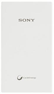 Sony 10, 000mAh Li-Polymer Power Bank, White