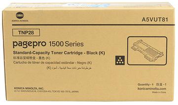 Konica Minolta TNP-28 Toner Cartridge, Black