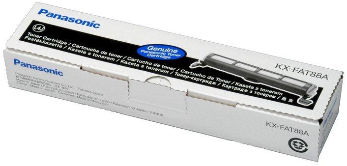 Panasonic KX FAT-88A Toner Cartridge, Black
