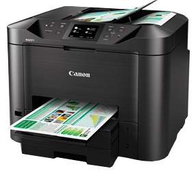 Canon MB5470 Color All in One Inkjet Printer, PSC, N, A, W, F, D