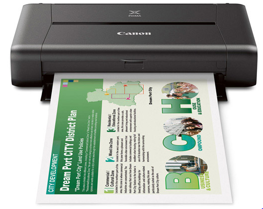 Canon iP 110 Color Single Function ink Mobile Printer