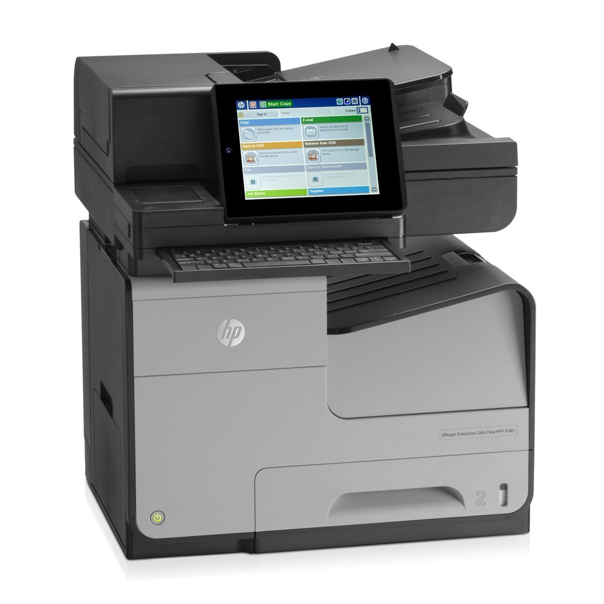 HP X585Z Color All In One ink Printer