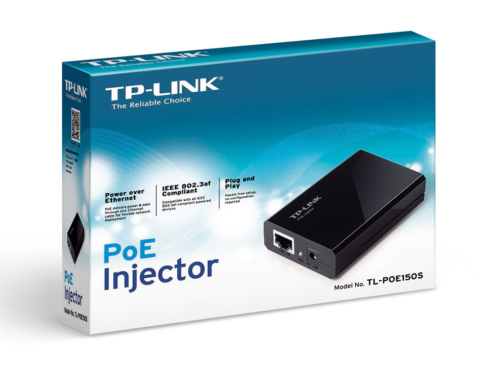 TP-Link TL-POE 150s PoE Injector