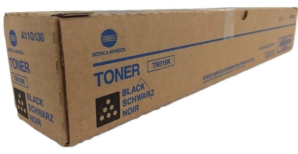 Konica Minolta TN-319K Toner Cartridge, Black, A11G130