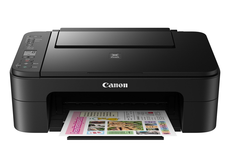 Canon E3170 Color All in One Inkjet Printer, PSC, Wifi