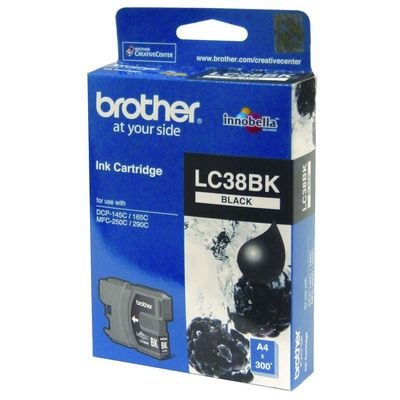 Brother LC38 Ink Cartridge, Black