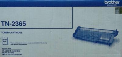 Brother TN-2365 Toner Cartridge, Black