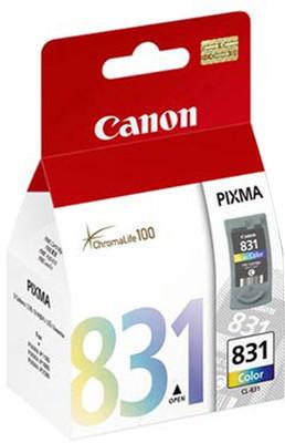 Canon 831 Ink Cartridge, Tri Color