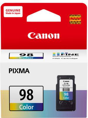 Canon 98 Ink Cartridge, Tri Color
