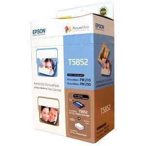 Epson T5852 Ink Cartridge & Photo Paper