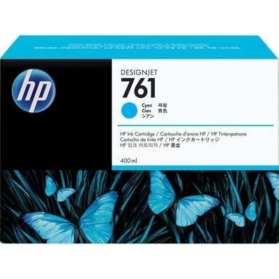 HP 761 Ink Cartridge, Cyan 400ml, CM994A