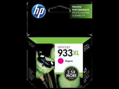 HP 933XL Ink Cartridge, Magenta