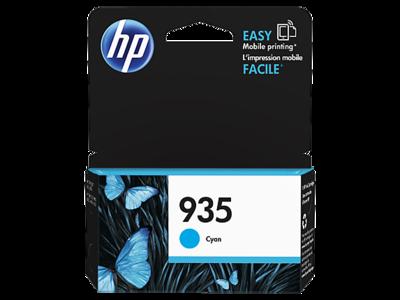 HP 935 Ink Cartridge, Cyan, C2P20AA