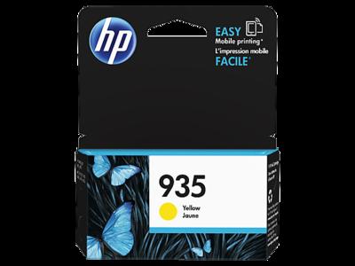 HP 935 Ink Cartridge, Yellow, C2P22AA