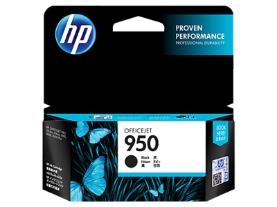 HP 950 Ink Cartridge, Black