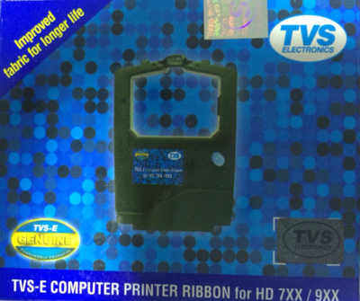 TVS HD 755, 745, 945, 955 Ribbon Cartridge
