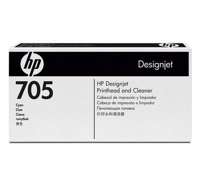 HP 705 Cyan & Cleaner Printhead, CD954A