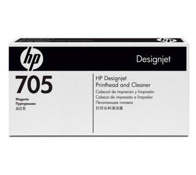 HP 705 Magenta & Cleaner Printhead, CD955A