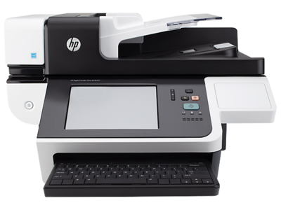 HP 8500fn1 Scanjet Document Capture Workstation Color Scanner