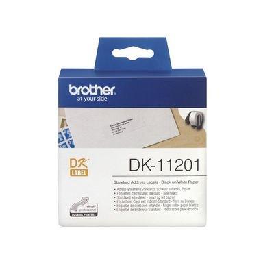 Brother DK11201 Standard Address Label, 29mm X 90mm X 400pcs