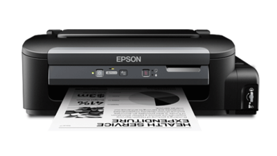 Epson M105 Single Function Black on White Ink Tank Printer