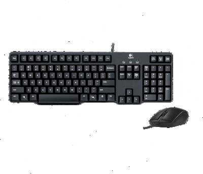 Logitech MK100 Keyboard Mouse