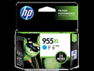 HP 955XL Ink Cartridge, Cyan