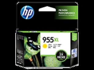 HP 955XL Ink Cartridge, Yellow