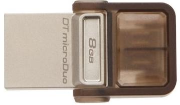 Kingston 8GB OTG Pen Drive, 2.0, duo