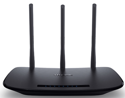 TP-Link WR940N Wireless Router, WAN, 450Mbps