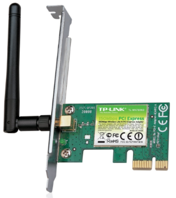 TP-Link WN781ND 150Mbps Wireless N PCI Express Adapter