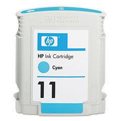HP 11 Ink Cartridge, Cyan