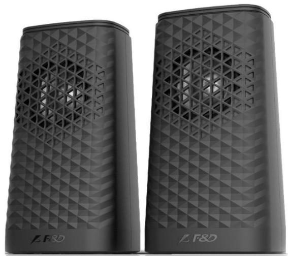 F&D V320 2.0 Speakers