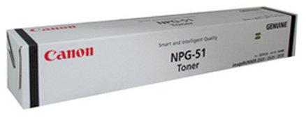 Canon NPG 51 Toner Cartridge, Black