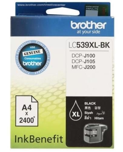 Brother LC539XL Ink Cartridge, Black