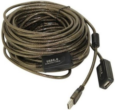 Haze 15mtr USB Extension Cable with IC