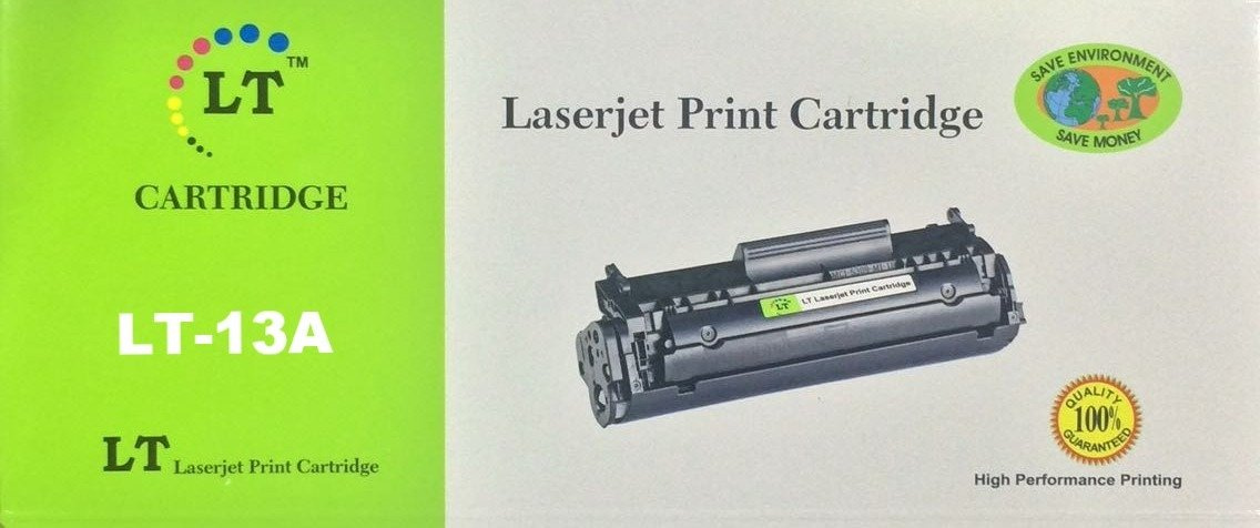 LT 13A Toner Cartridge, Black, Q2613A