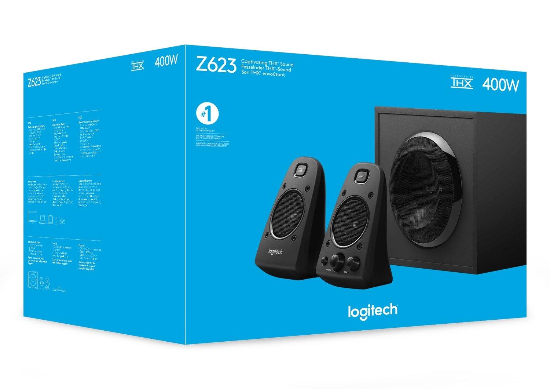 Logitech Z623 Multimedia 2.1 Speakers