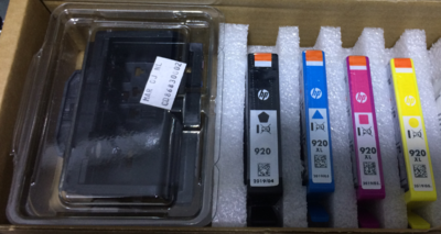 HP 920 Printhead with Ink Cartridge, Combo Pack