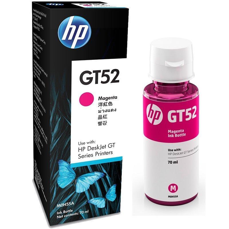 HP ink Bottle, GT 52, Magenta, 70ml