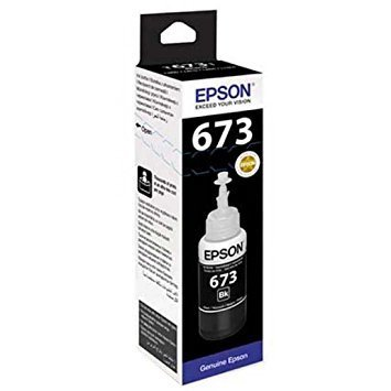 Epson ink Bottle, 673, Black, for l800, l805, l810, l850, l1800