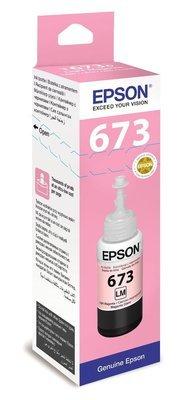 Epson ink Bottle, 673, Light Magenta, for l800, l805, l810, l850, l1800