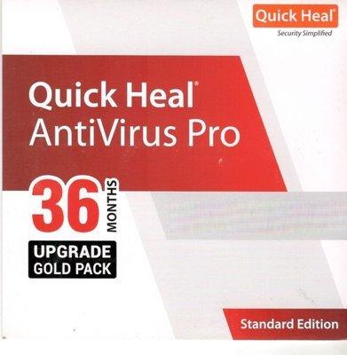 Renewal, 5 User, 3 Year, Quick Heal Antivirus Pro